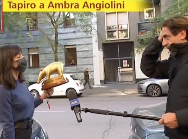 Ambra Angiolini valuta iniziative legali dopo il servizio di Valerio Staffelli a «Striscia la Notizia»