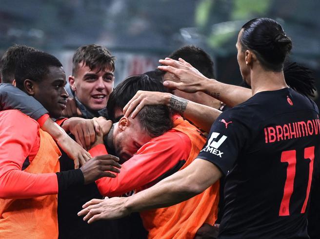 Milan-Verona 3-2: doppia rimonta con Giroud e Kessie, Diavolo in vetta