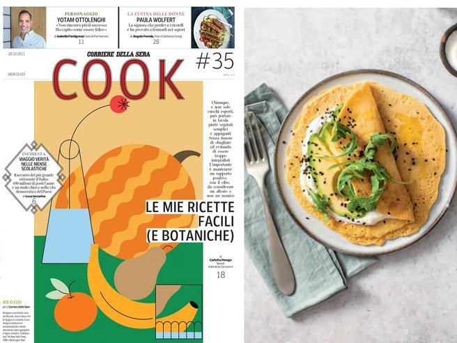 La seconda vita di Ottolenghi e le ricette di Carlotta Perego: «Cook» mercoledì in edicola