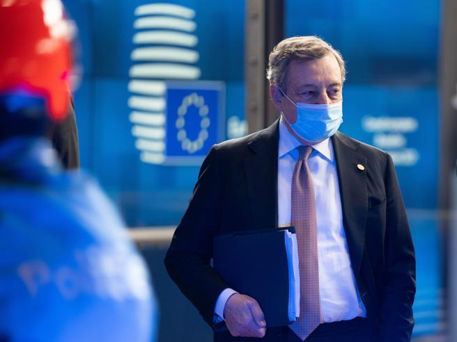 Draghi: «Migranti, no a muri finanziati da Ue. Quota 100 non sarà rinnovata»