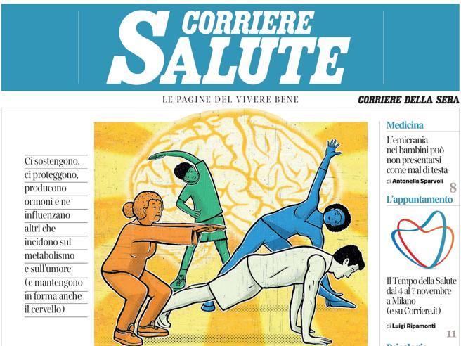 Sul Corriere Salute: come riconoscere i sintomi anomali del mal di testa nei bambini