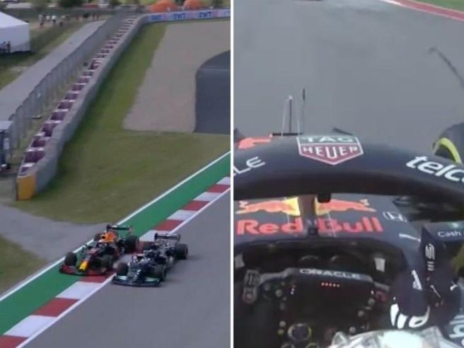 Gp Austin F1, duello Hamilton-Verstappen nelle libere. Max fa il dito medio a Lewis: «Stupido idiota»