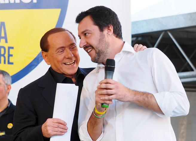Telefonata Salvini-Berlusconi: presto un vertice con i ministri di Lega e Forza Italia