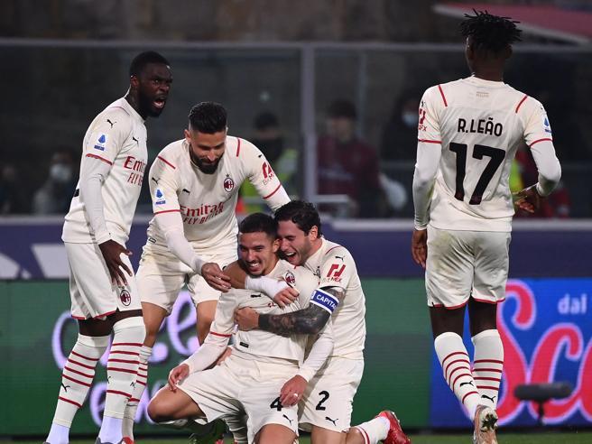 Bologna Milan 2 4: Bennacer e Ibrahimovic nel finale piegano i rossoblù in 9