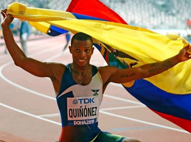 Atletica, ucciso in una sparatoria Alex Quinonez bronzo nei 200 metri al Mondiale di Doha