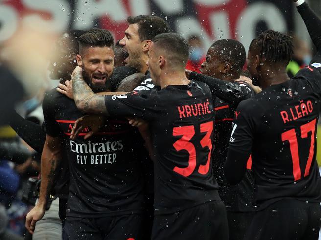 Milan Torino 1 0: Giroud manda i rossoneri a più 3 in classifica. Per i granata traversa di Praet