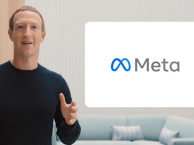 Il nuovo nome di Facebook è Meta