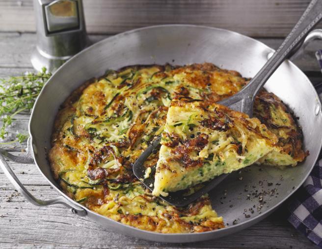 Frittata al forno con le zucchine
