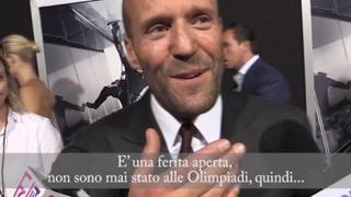 L'attore Jason Statham e il rimpianto olimpico