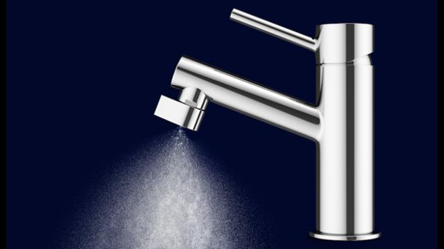Filtro per l acqua del rubinetto potabile dritto cucina di casa