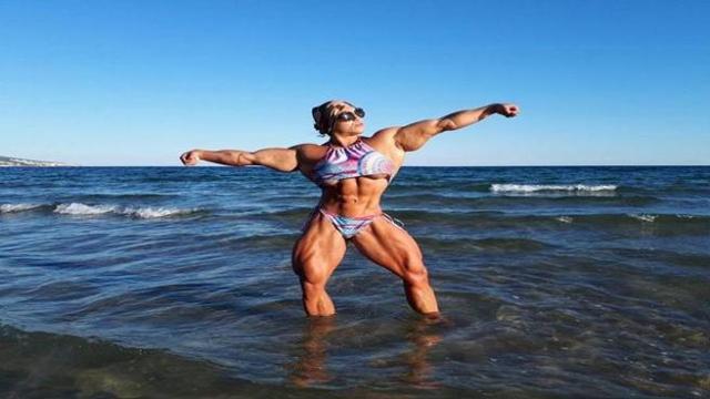 Le Persone Piu Muscolose Del Mondo.Il Ritorno Di Nataliya Kuznetsova La Donna Piu Muscolosa Del Mondo