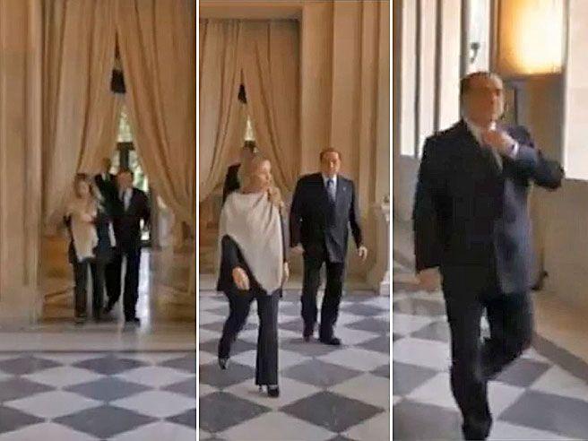 Meloni si arrabbia con Berlusconi, prima discute... poi  lo lascia solo