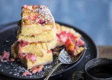 Rabarbaro e vaniglia, la torta dolce di Erin French