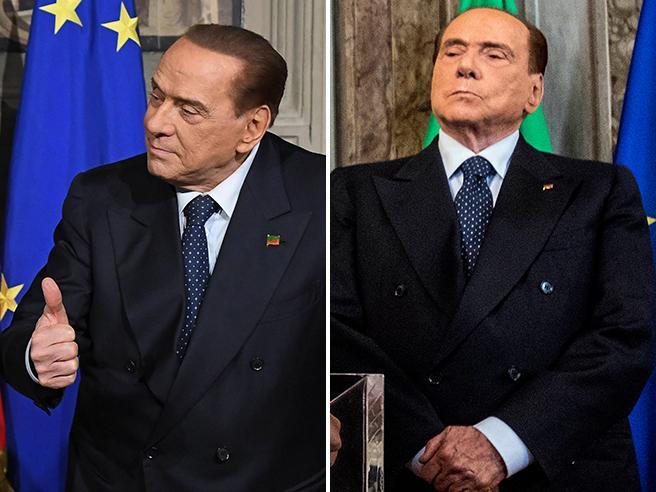 Il cambiamento di Berlusconi: dall'1-2-3 alle mani giunte. Con tentazione finale Video
