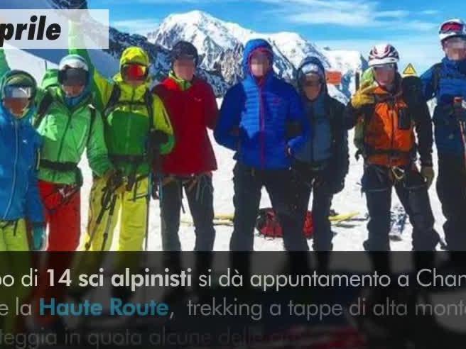 Alpinisti italiani morti in Svizzera: la tempesta e i soccorsi - la videoricostruzione
