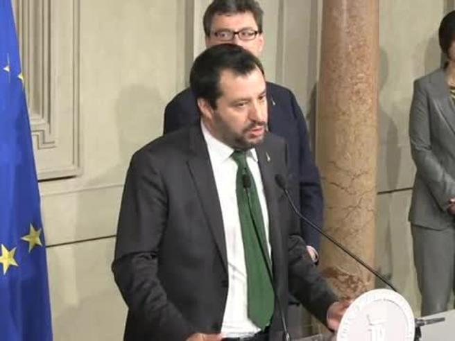Salvini: «Rispetteremo regole UE per quanto possibile. Deve tornare a crescere il Paese»
