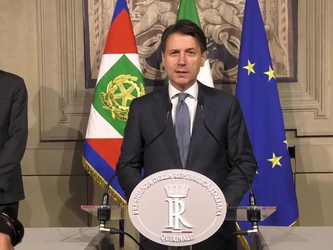 Quirinale, Conte ha ricevuto l'incarico da Mattarella: il suo discorso integrale