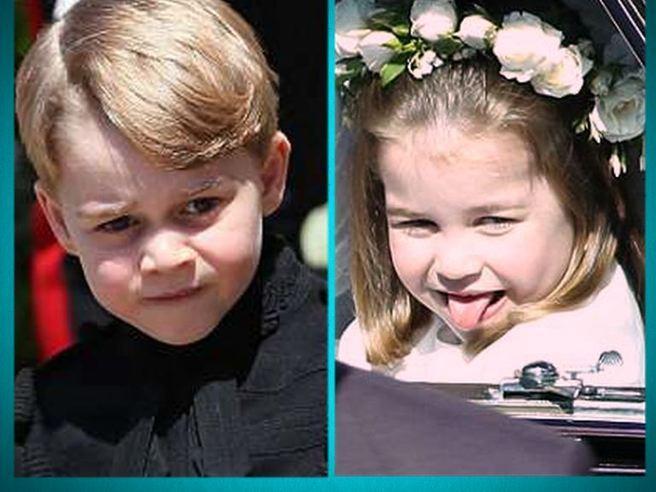 Royal Wedding, Charlotte vs. George: la principessina ruba la scena al fratellino futuro Re