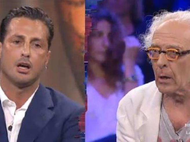 Corona-Mughini, rissa in diretta tv: «Ti compro e ti metto in giardino»