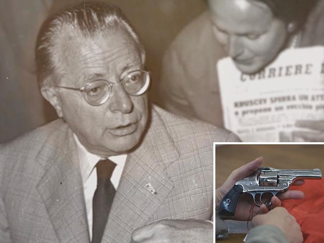 Nilde Iotti e quella pistola nel cassetto: la storia dell'arma che 70 anni fa sparò a  Togliatti Video