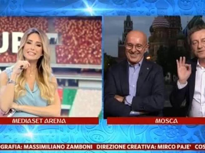 Giorgia Rossi, i complimenti di Sandro Sabatini: «Sei più brava che bella». E lei replica con ironia