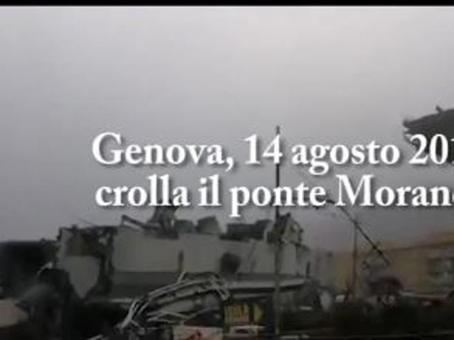 Genova, crolla il ponte Morandi: ecco cosa è successo Il film della tragedia