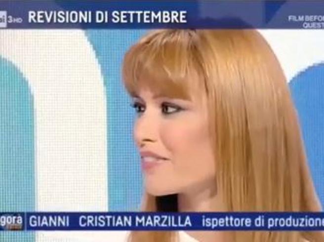 Carlotta Mantovan debutta sulla Rai e si emoziona