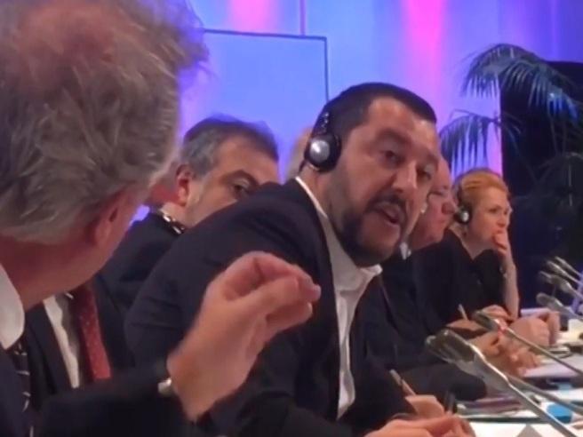 Salvini, lite furiosa sui migranti col ministro  del Lussemburgo Asselborn che sbotta: «Merde alors!»