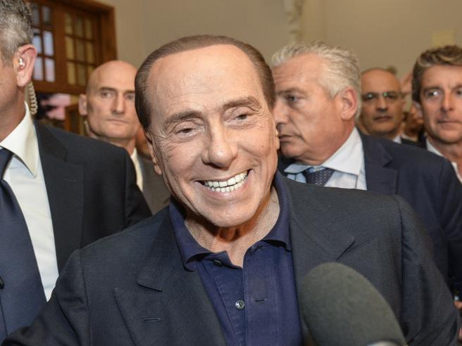 Berlusconi a Fiuggi: «Questo governo e soprattutto i 5 Stell