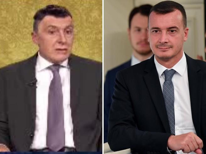 Ubaldo Pantani esilarante nei panni di Rocco Casalino, portavoce del premier Conte
