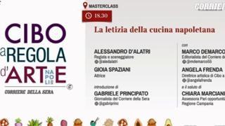 Cibo a regola d\'arte: la letizia della cucina napoletana con ...