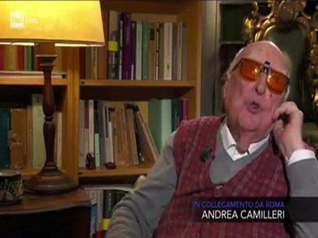 6a3e51748838 L invettiva di Andrea Camilleri in tv  «È una fortuna oggi essere ciechi