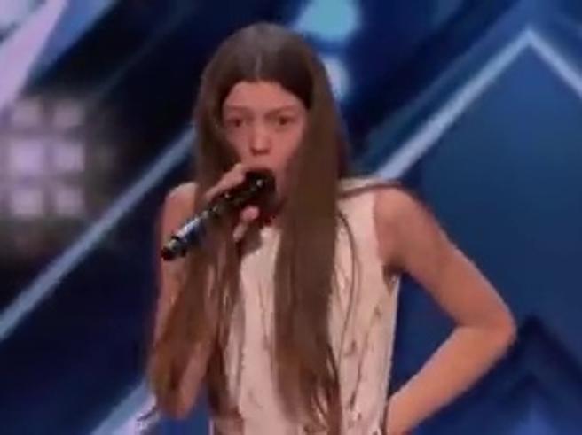Courtney Hadwin, la quattordicenne che ha entusiasmato l'America: la sua performance da 20 milioni di clic