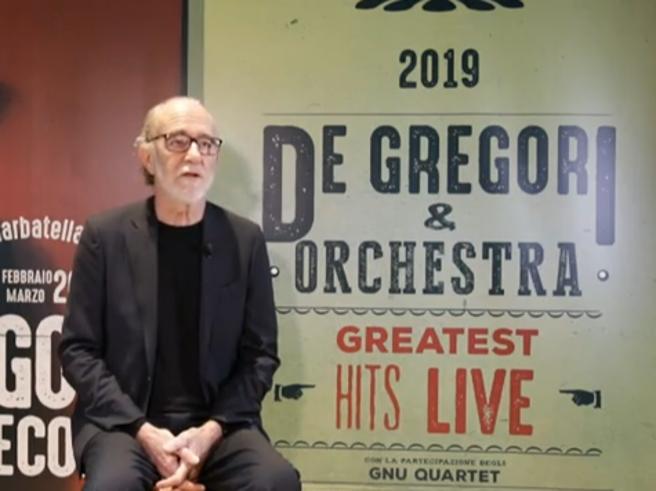 Francesco De Gregori: «Nel 2019 concerti intimi in teatro e con orchestra su grandi palchi»