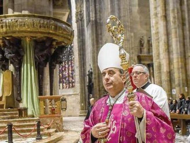 Milano, il discorso alla città dell'arcivescovo |  Diretta tv