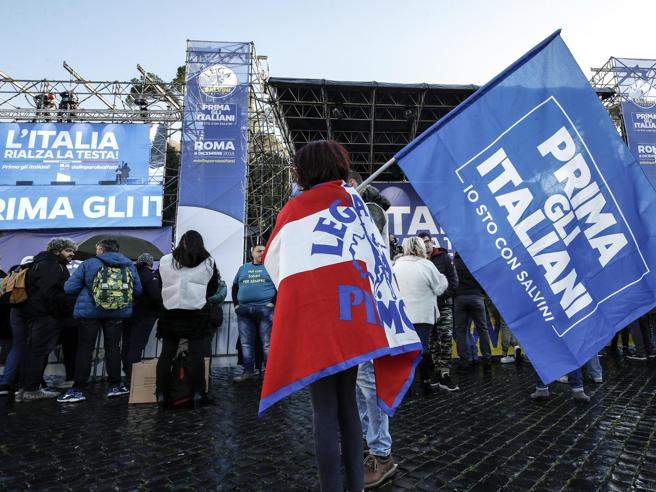 Manifestazione Lega a Roma: la diretta da piazza del Popolo