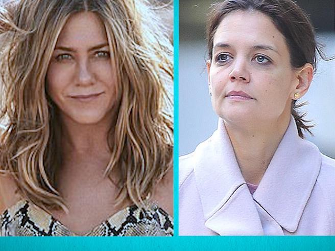 L'età non è uguale per tutte: dal «fenomeno» Jennifer Aniston a Katie Holmes che arranca