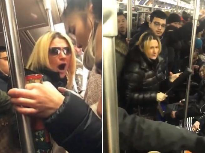New York, aggredisce con urla, calci e un ombrello una donna asiatica: passeggera arrestata sulla metro