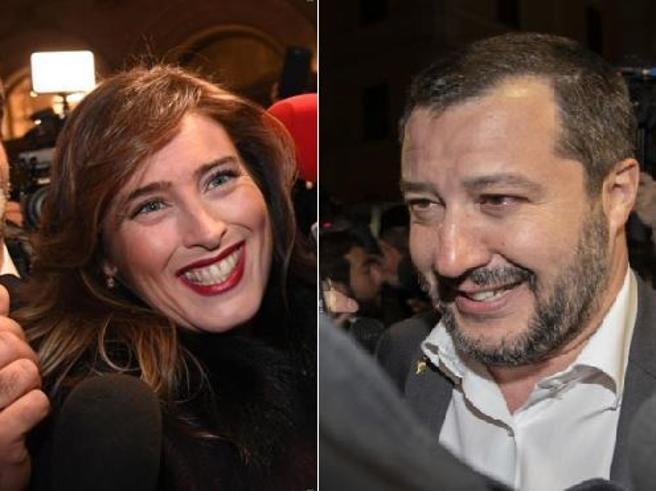 Cena di Salvini  coi renziani   Boschi nega alleanze VideoIl vicepremier: parlo con tutti