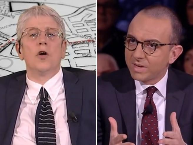 Giordano a Piazzapulita: «Io intollerante e xenofobo? Chiede