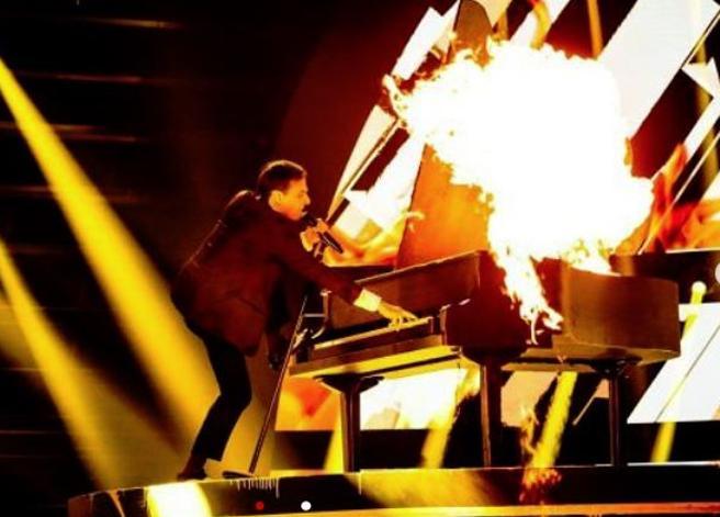 Italia's Got Talent, trionfa il piano «incendiario» di Antonio Sorgentone