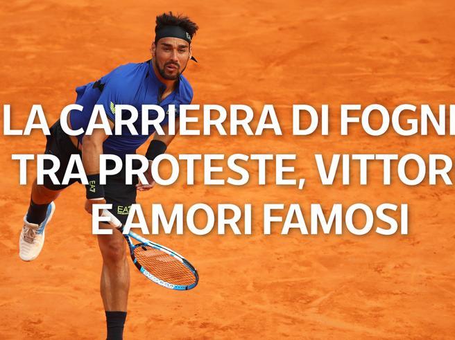 La carriera di Fognini: tra proteste, vittorie e amori famosi