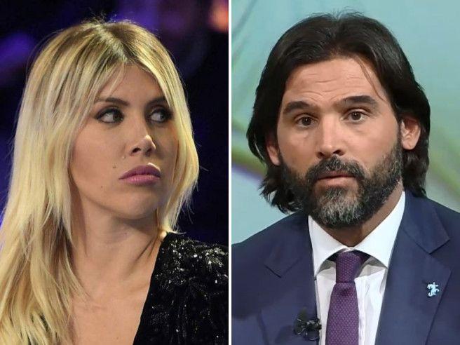 Segna Icardi e Wanda Nara insulta Adani durante la telecronaca: «Inutile è quella p... di tua sorella»