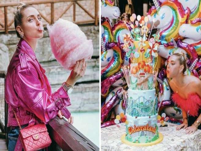 Chiara Ferragni per festeggiare il compleanno si affitta tutta Gardaland