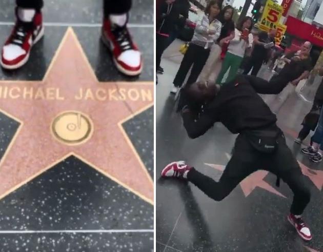L'omaggio a Michael Jackson del fan ballerino è travolgente