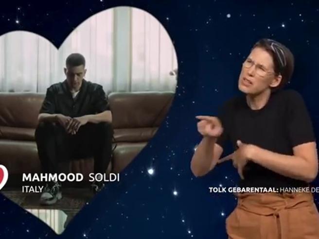 «Soldi» di Mahmood nella lingua dei segni è bellissima