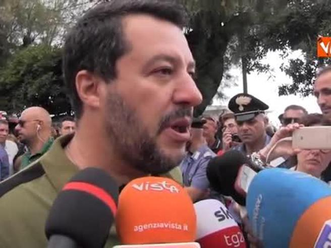 Salvini s'arrabbia con la giornalista di SkyTg24: «Lei fa politica? Si candidi nella sinistra»