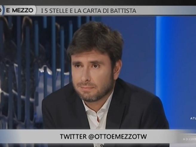 Duello a «Otto e mezzo», Di Battista: «È stato faticoso», la giornalista: «Ma lei è un combattente»
