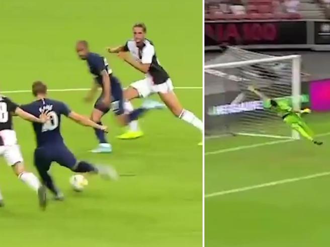 Juve-Tottenham, lo straordinario gol di Kane che ha messo ko i bianconeri