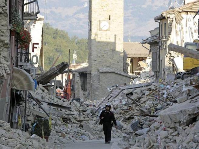 Terremoto ad Amatrice, la commemorazione a tre anni dal sisma La diretta video
